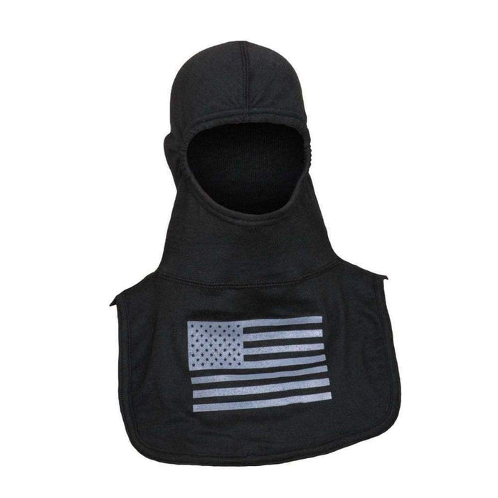 Majestic Hoods Fire Ink Black Hood with Grey Flag PAC II Hood
