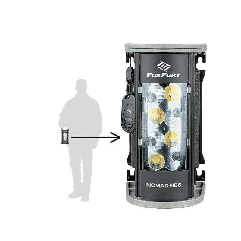 Foxfury Lighting Solutions Flashlight FoxFury Nomad Cordless N56 Production Light