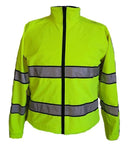 Gerber Outerwear Safety Apparel Fire_Safety_USA Gerber Outerwear Medix Plus Parka w/Soft Shell Liner - Lime Yellow