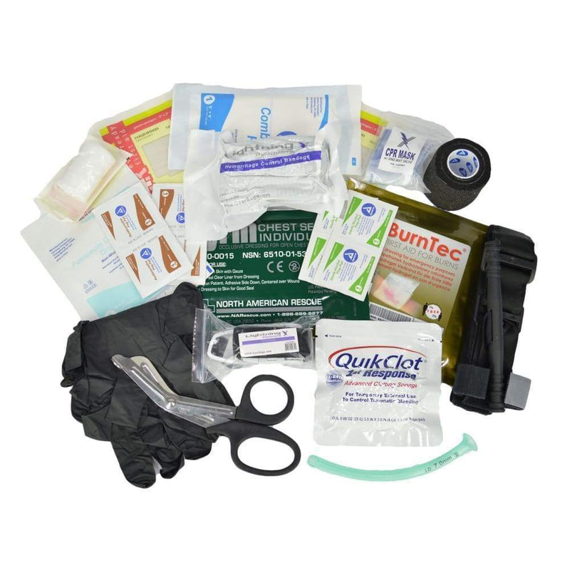 Lightning X Accessories Gunshot/Trauma Tactical IFAK Fill Kit