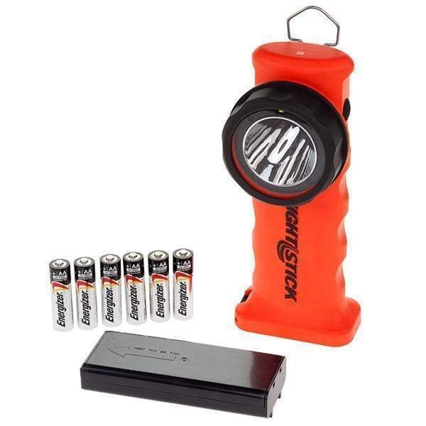 Bayco Flashlight Intrinsically Safe Dual-Light Angle Light – 6 AA