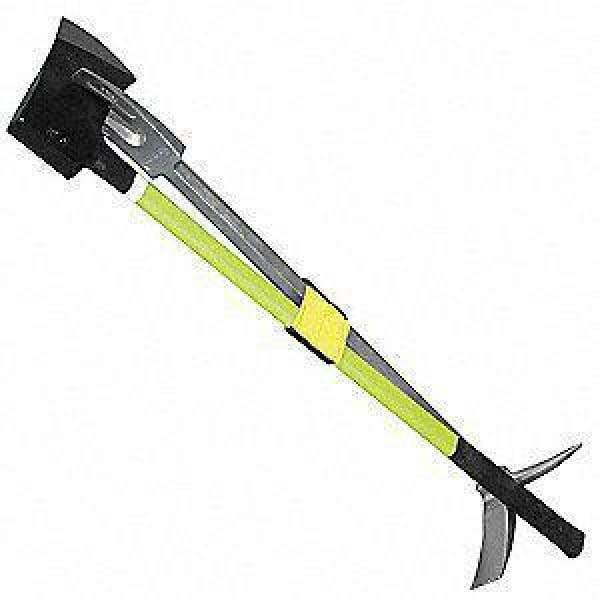 LeatherHead Tools Forcible Entry Leatherhead Halligan, Lime Axe & Marry Strap Kit