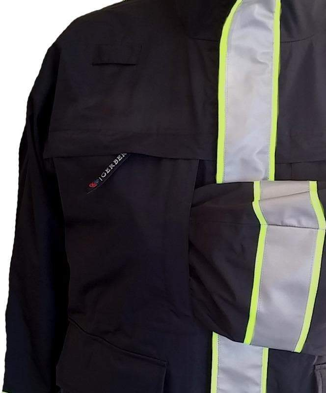 Gerber Outerwear Safety Apparel Fire_Safety_USA Medix Plus Parka with Soft Shell Liner