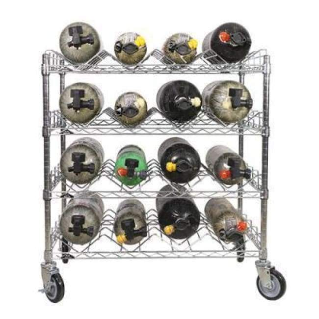 Ready Rack Bottle Carts Ready Rack SCBA Cylinder Cart