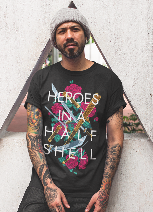 Heroes in a Half Shell T-shirt - Trendsetterco
