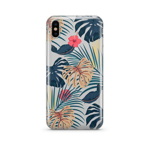 New Day Monstera - Clear Phone Case Cover - Trendsetterco