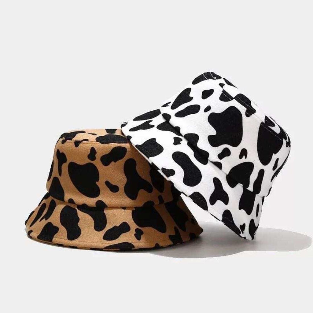 Leopard | Cow Printed Bucket Hat