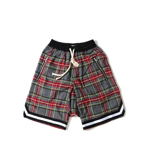 Men's Scottish Plaid Shorts - Trendsetterco