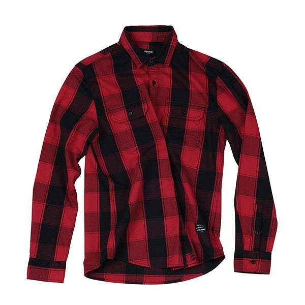 Fashion Streetwear Long Sleeve Shirt - Trendsetterco