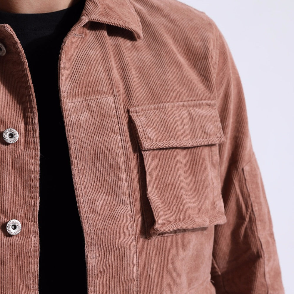 Casual 4 pockets Jacket - Trendsetterco