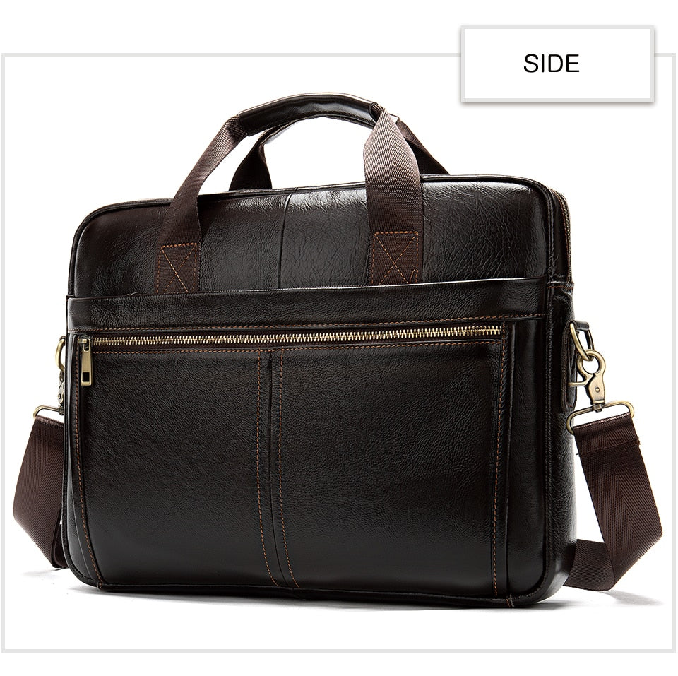 Genuine leather briefcase bag - Trendsetterco