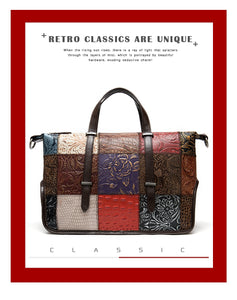 Luxury vintage genuine leather - Trendsetterco