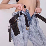 Fashion leather waist/ belt Bag - Trendsetterco