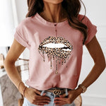 Casual ruffles short sleeve t-shirt