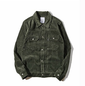Retro multi-pocket loose denim jacket - Trendsetterco