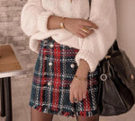 Mini plaid skirt - Trendsetterco