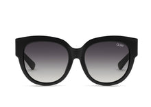 Quay Limelight Sunglasses in Black/Smoke Lenses