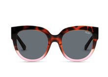 Quay Limelight Sunglasses in Tort to Pink/Smoke Lenses
