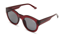 QUAY 'If Only' Sunglasses Red/Smoke