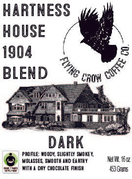 Hartness House 1904 Blend FTO - Dark Roast - One Pound
