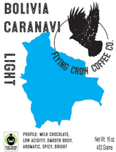 Load image into Gallery viewer, Bolivia Colonial Caranavi FTO - Light Roast - One Pound