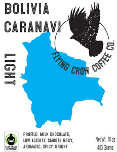 Bolivia Colonial Caranavi FTO - Light Roast - One Pound