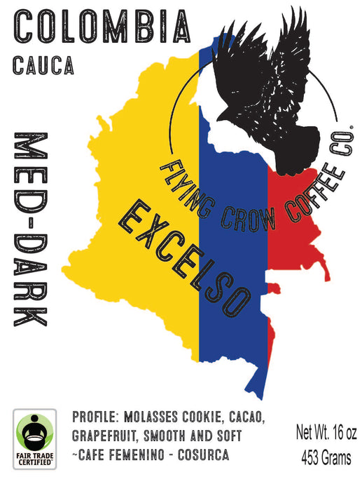 Colombia Cauca - Med-Dark Roast