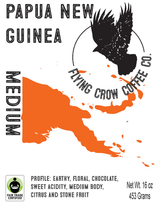 Papua New Guinea FTO - Medium Roast - One Pound