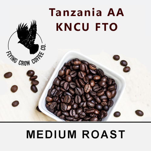 Tanzania AA KNCU - Medium Roast - One Pound