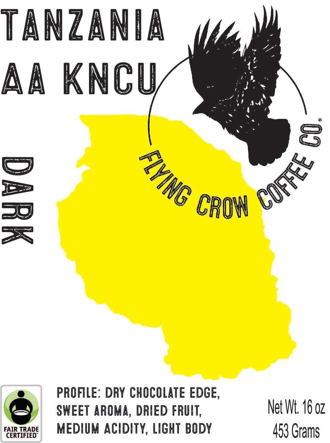 Tanzania AA KNCU - Dark Roast - One Pound
