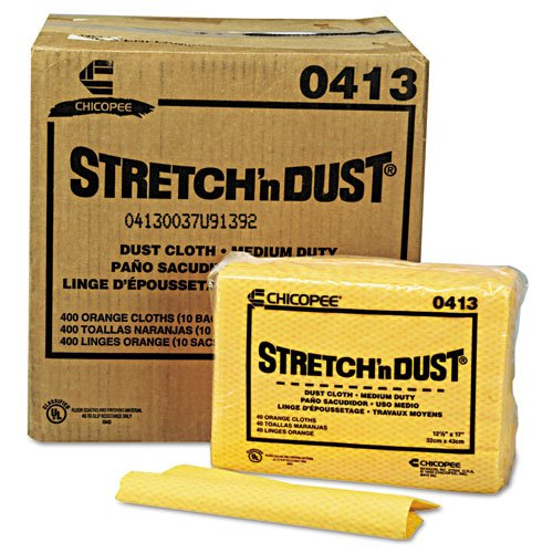 "Stretch'n Dust Meidum Duty Dust Cloth 12"" X 17"" - 400/Box"