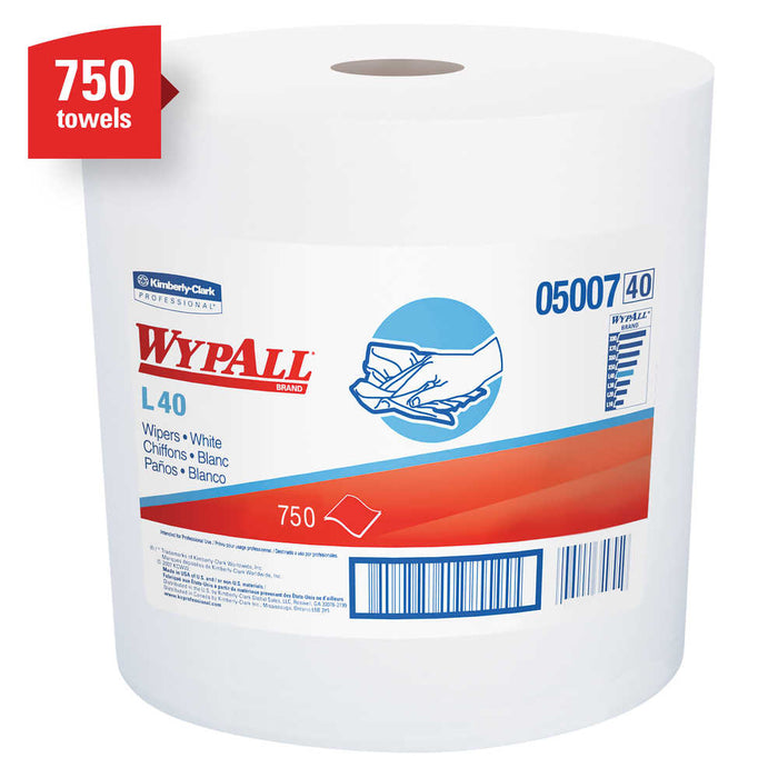 Wypall L40 Wipers - 1 Roll X 750 Sheets