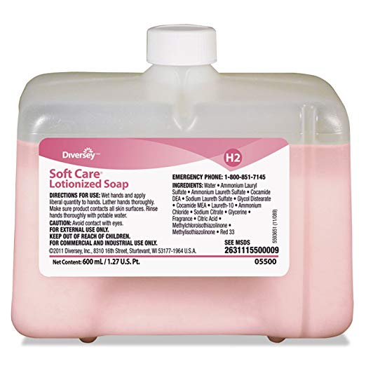 Soft Care Lotionized Hand Soap - 12 X 600 mL