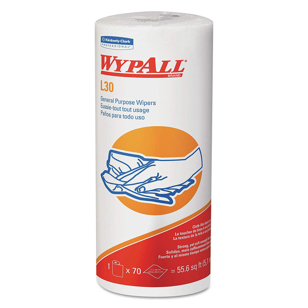 Wypall L30 Wipers - 24 Rolls X 70 Sheets