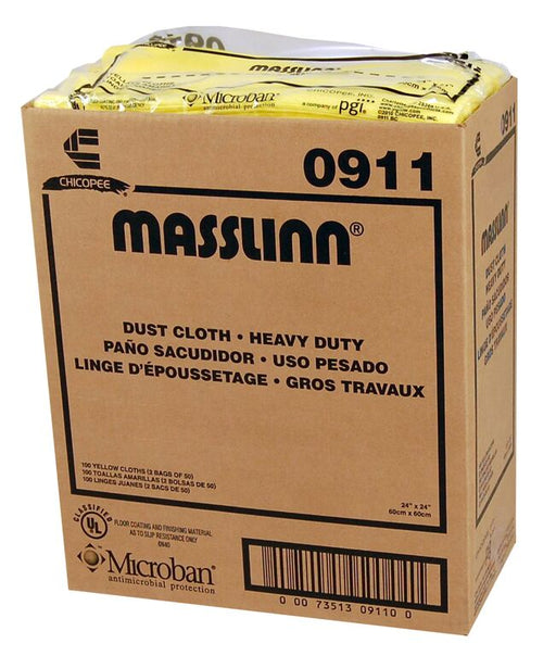 "Stretch'n Dust Heavy Duty Dust Cloth 24"" X 24"" - 100/Box"