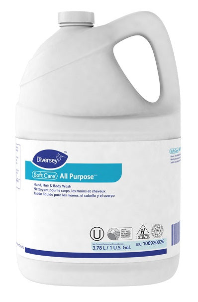Soft Care All Purpose Hand, Hair & Body - 4 X 1 Gallon