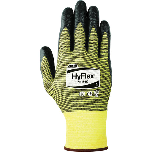 Ansell Hyflex Gloves with Stretch Liner 11-510 - 12 Pairs/Pack