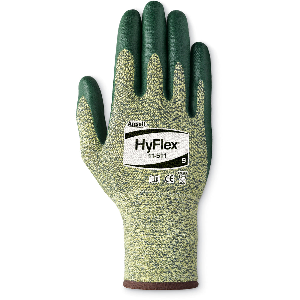 Ansell Hyflex Gloves with Stainless Steel 11-511 - 12 Pairs/Pack