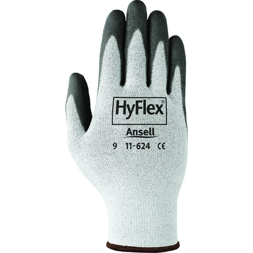 Ansell Hyflex Gloves with Ergonomic Design 11-624 - 12 Pairs/Pack