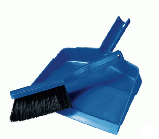 Vileda Professional 12 Inch Dust Pan and Brush