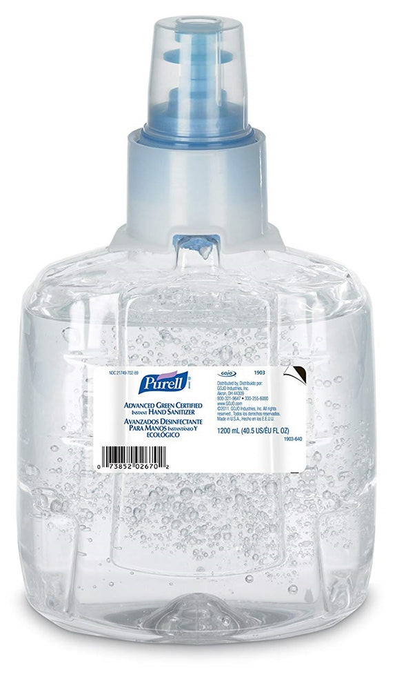 Purell Advanced Hand Rub 1903-02 - 2 X 1200 mL