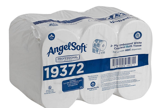 Georgia Pacific Angel Soft Coreless Toilet Paper - 2 Ply