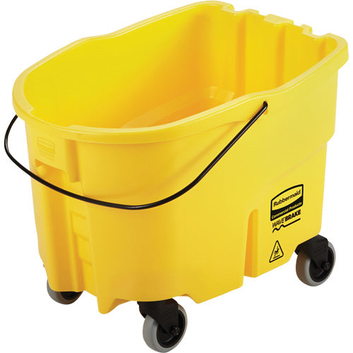 Rubbermaid Wavebrake Mop Bucket Only - Yellow