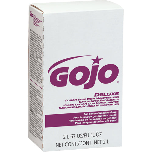 Gojo Deluxe Lotion Soap with Moisturizers- 4 X 2000 mL
