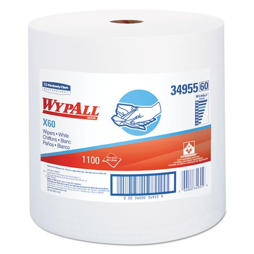 Wypall X60 Reusable Cloths - 1 Roll X 1100 Sheets