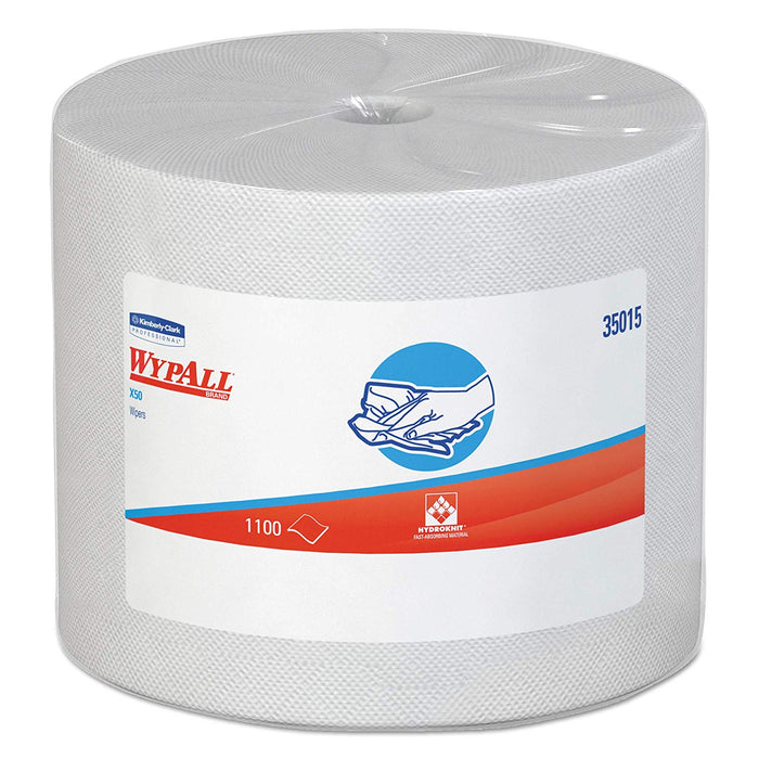 Wypall X50 Reusable Wipers - 1 Roll X 1100 Sheets