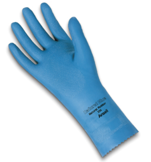Ansell AlphaTec Natural Blue Light Duty Gloves 356 - 12 Pairs/Pack - SPECIAL ORDER***