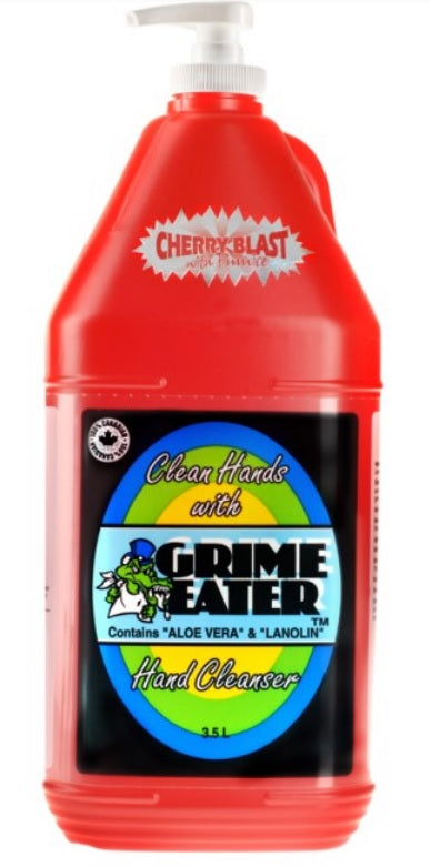 Cherry Blast Hand Cleaner with Ultra Fine Pumice Scrubbers 39-04 - 4 X 3.5 Litres