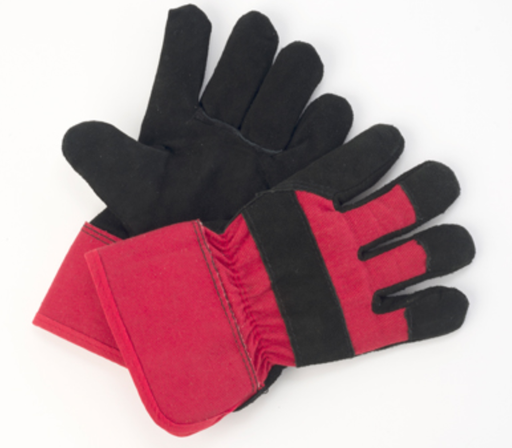 Mens 3M Thinsulate Lined Split Leather Gloves