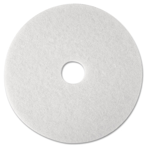 3M White Super Polish Pads  - 4100